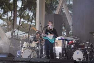 the japanese house, amber bain, the 1975 photo pass, bayfront amphitheater