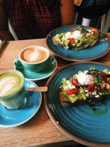 bluestone lane, new york city coffee shops, best avocado toast