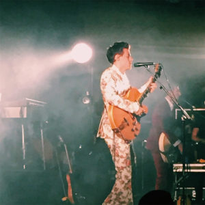 harry styles at the masonic, harry styles in floral suit, in the pit at harry styles concert, general admission at harry styles concert