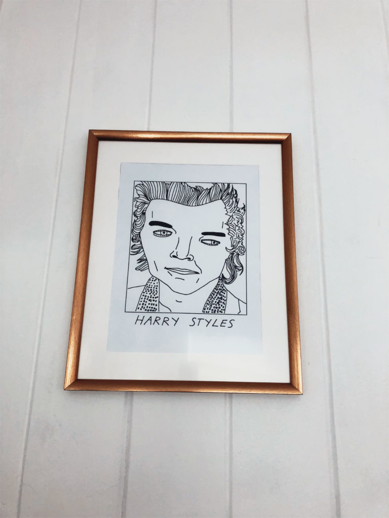 harry styles badly drawn art