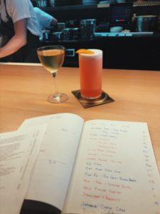 review of the bar at momofuku ko