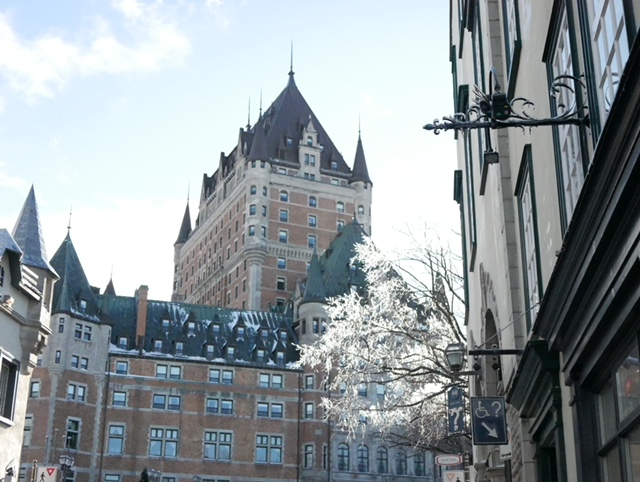 frontenac, review of quebec city, best things to do in quebec, girls trip to quebec