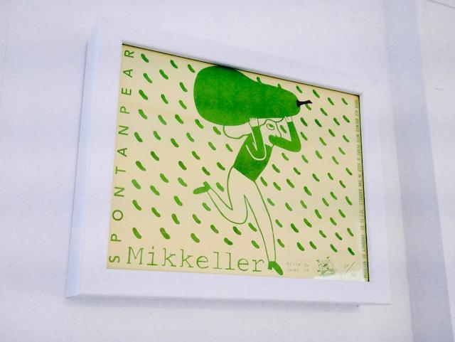 mikkeller, keith shore print, mikkeller print