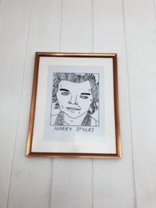 harry styles badly drawn art