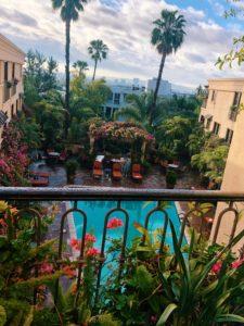 best hotel in la, review of best western