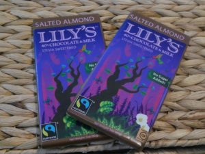 lilys chocolate review, best lilys chocolate, low car chocolate